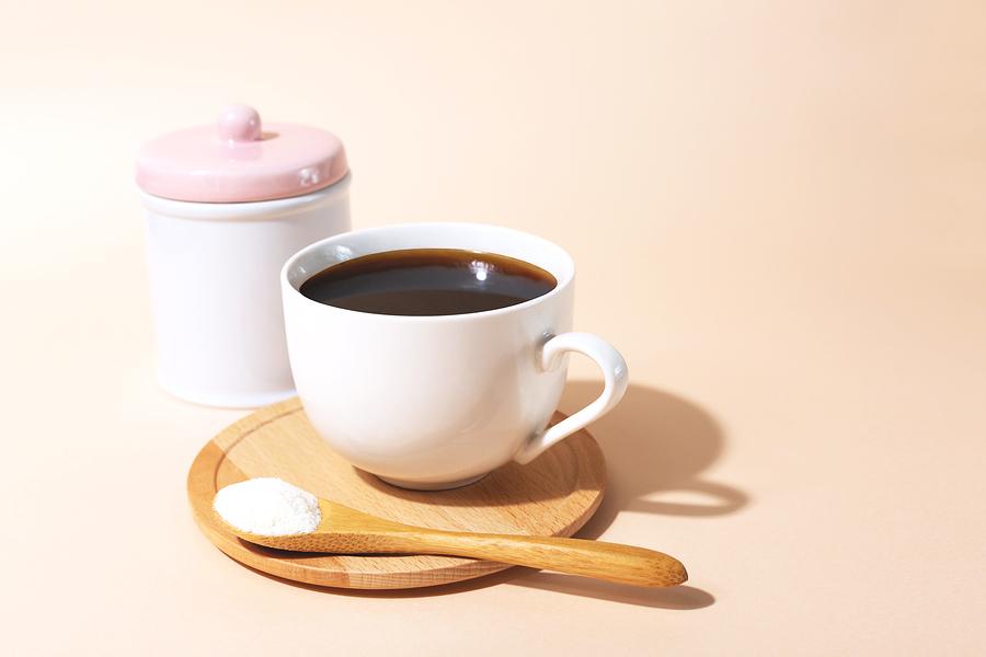Kolagen s kavou